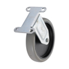 5'' Light Duty Zinc Finish Rigid Stem Caster Wheel Manufacturer