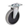 5'' Light Duty Zinc Finish Swivel Stem Caster Industrial Wheel