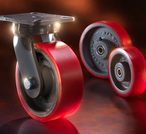 What kinds of competition modes exist in the universal caster wheel industry?