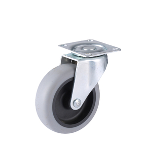 Light Duty Swivel Caster wheel for shopping trolley cart ,medicl equipment