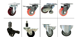 Several ways to match the installation of caster wheel
